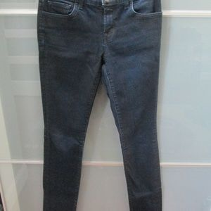 The Pencil Leg Skinny Jeans Coated Venom Low Rise